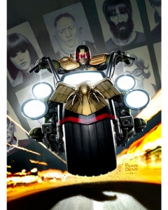 2000AD Prog 1953 Cover judge dredd