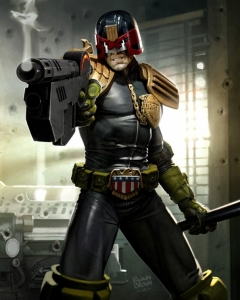 2000AD Prog 1929 Cover judge dredd