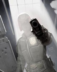 Dredd Cover 2000ad