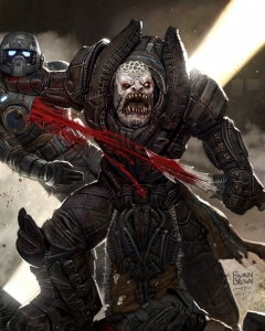 cover for idw gears of war issue 1